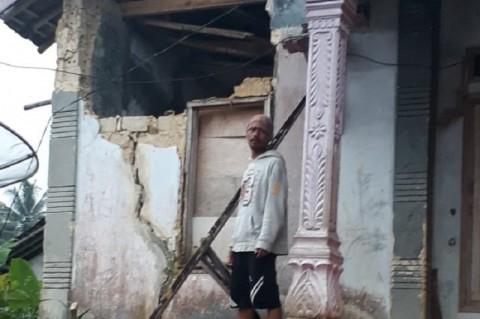 644 Rumah di Pamijahan Bogor Terdampak Gempa