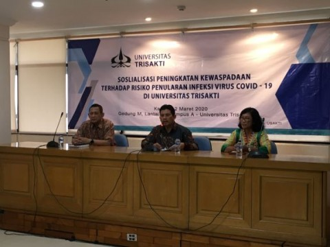 Universitas Trisakti Dorong Mahasiswa Meneliti Korona