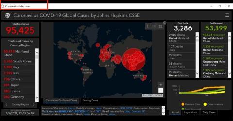 Waspada, Ada Peta Persebaran Virus Korona Palsu Berisi Malware