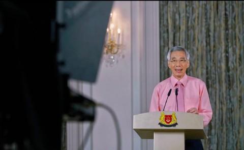 PM Singapura Perkirakan Wabah Korona Berlanjut Selama Setahun