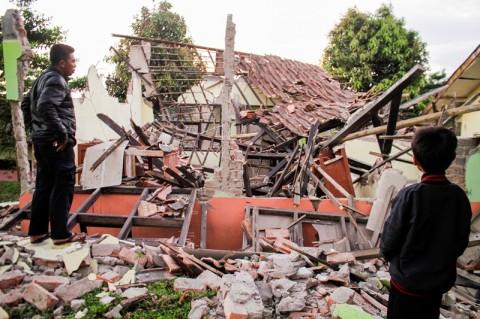 Pemkab Sukabumi Tetapkan Masa Tanggap Darurat Gempa