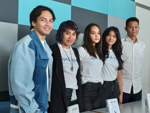 Jefri Nichol dan Aurora Ribero Adu Akting di Film Adaptasi Novel Boy Candra