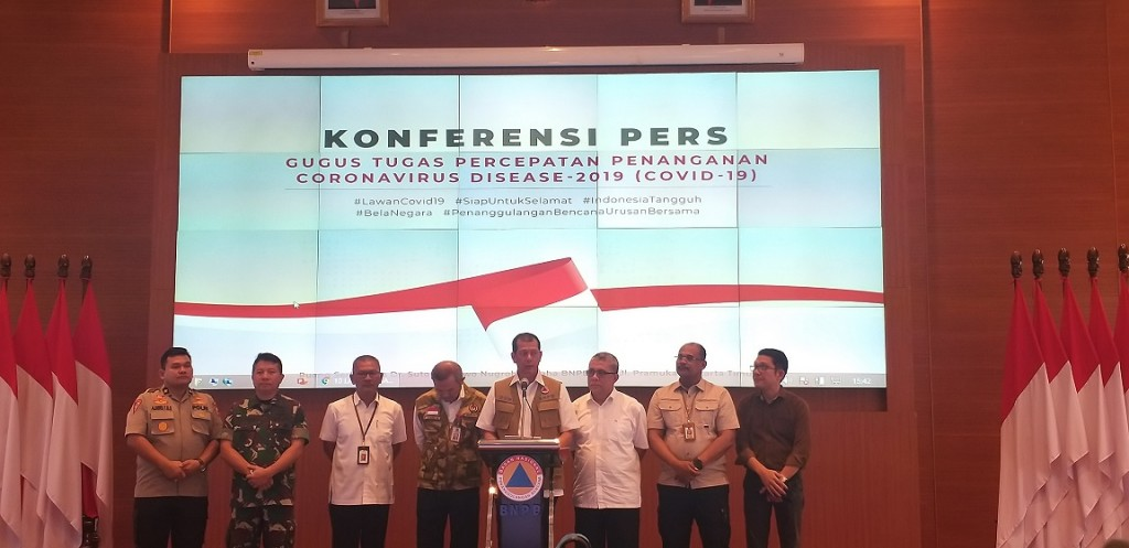 Ketua Gugus Tugas Percepatan Penanganan Corona Virus Disease 2019 Doni Monardo.