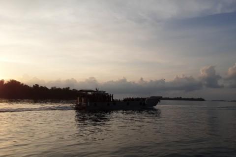 68 ABK Diamond Princess Berlayar ke Tanjung Priok