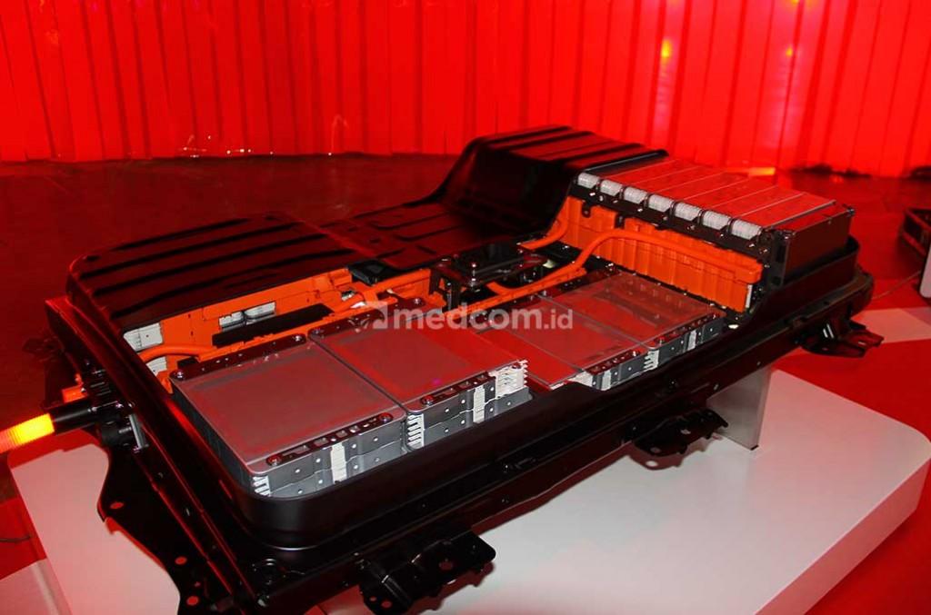 Indonesia kini bisa bikin baterai mobil listrik berbasis aluminium dan akan membantu mempercepat penerimaan mobil listrk di Indonesia. medcom.id/Ahmad Garuda