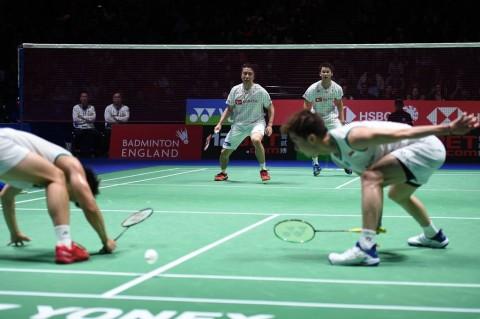 Marcus/Kevin Tumbang di Final All England 2020