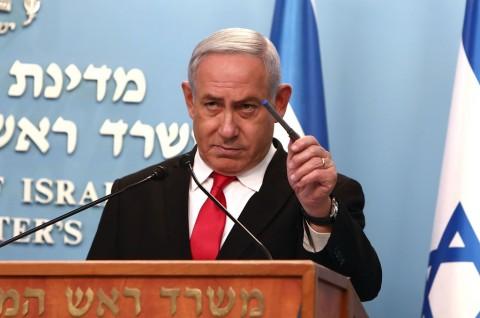 PM Israel Benjamin Netanyahu Negatif Korona