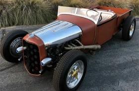 Modifikasi Ford Atomic Roadster 1929 Hot Rod