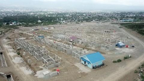 Hunian bagi Korban Bencana di Palu Capai 60%