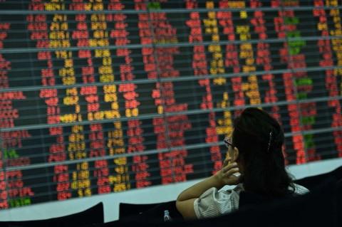 Suku Bunga The Fed Turun, Bursa Asia Jatuh