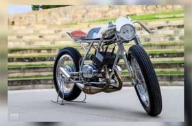 Tampilan Keren Yamaha RD 200