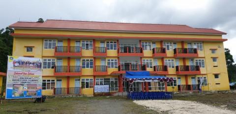 Bangunan Rusunawa Mahasiswa Papua Senilai Rp12 Miliar