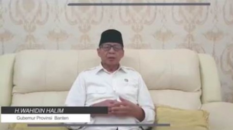 Wahidin Halim: 1 Pasien Positif Korona Asal Banten Meninggal