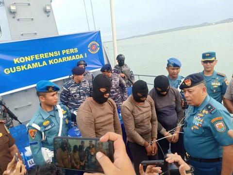 3 Perompak Ditangkap di Perairan Pulau Nipah