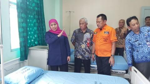 Pemprov Jatim Siapkan 132 Tempat Tidur untuk Isolasi Korona