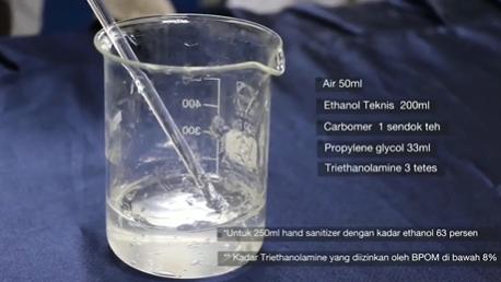 Cara Mudah Membuat <i>Hand Sanitizer</i> di Rumah