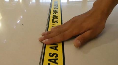 Bandara AP II Terapkan Pembatasan Sosial ke Penumpang