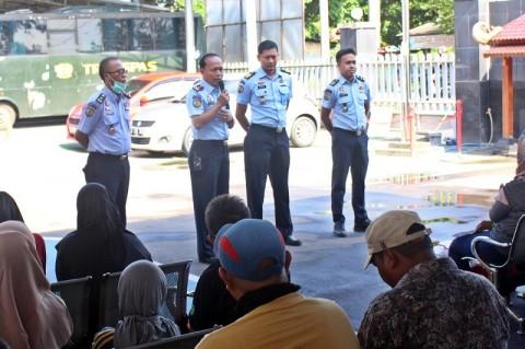 Lapas Tangerang Setop Besuk Tahanan