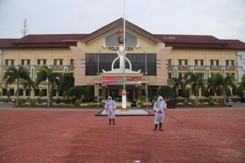 Polda Aceh Sterilisasi Markas