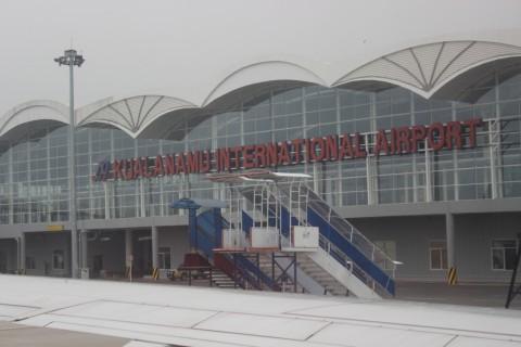 Bandara Lampung Terapkan Kebijakan Jaga Jarak di Keramaian