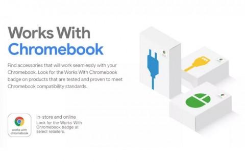 Google Luncurkan Lencana Khusus untuk Aksesori Chromebook