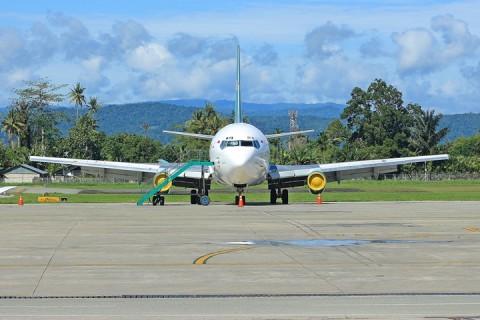 Penerbangan Garuda Indonesia di Jayapura tak Terdampak Korona
