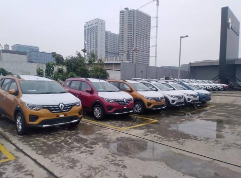 Sosok Renault Triber Mulai Kelihatan di Indonesia
