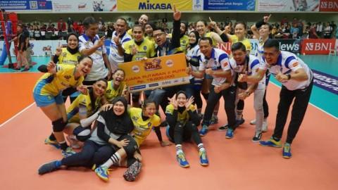 Tekuk JPE, Bandung bjb Tandamata Juara Proliga 2020 Seri II