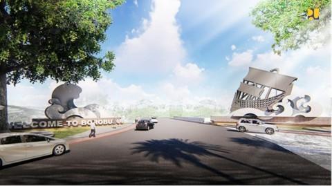 Desain Gerbang Klangon yang Jadi Ikon Baru Borobudur