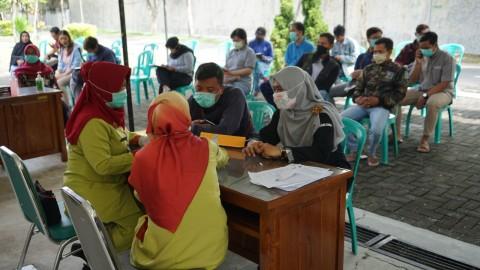 Warga Semarang Cek Virus Korona Gratis di RSJ Amino Semarang
