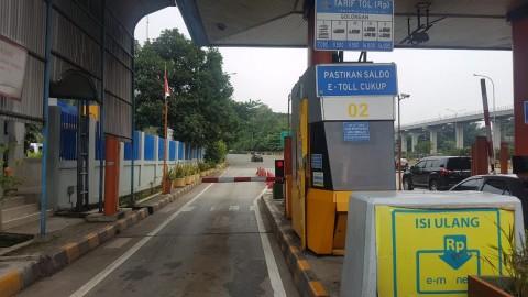 Cegah Rantai Corona, Top-Up Tunai di Gerbang Tol Jabotabek Stop