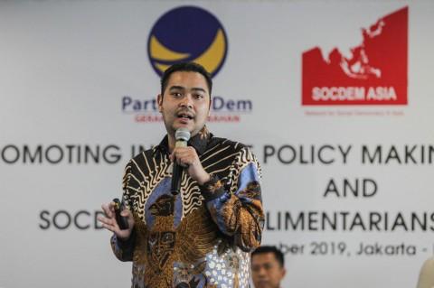 Prananda Paloh Dukung Penuh Pemerintah Mengatasi Pandemi Covid-19