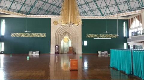 Masjid Agung Al-Ukhuwwah Tak Gelar Kegiatan Sementara Waktu