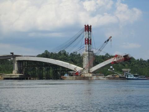 Pengusaha Khawatirkan Jembatan Pulau Balang Ganggu Kapal