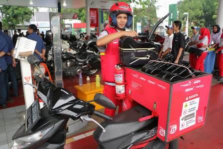 Layanan Pesan Antar BBM-LPG Pertamina Laris