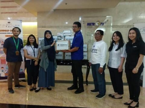 Media Group Sumbang APD Tenaga Kesehatan