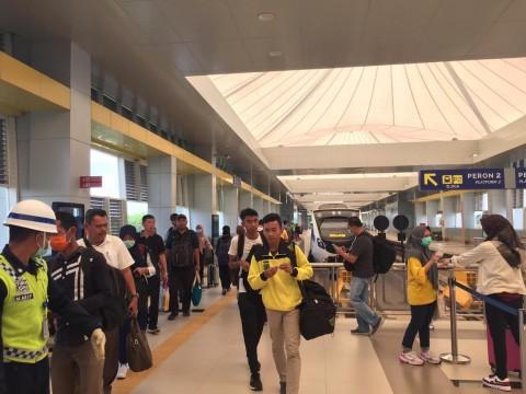 LRT Palembang Kurangi Jumlah Perjalanan