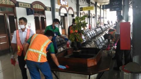 Penumpang Kereta Api di Jateng Menurun Drastis Akibat Wabah Korona