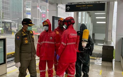 120 Personel Damkar Kawal Desinfeksi Korona