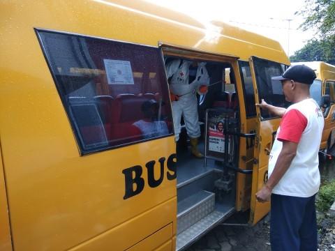 Pergerakan Kru dan Bus Pengangkut Tenaga Medis Dibatasi