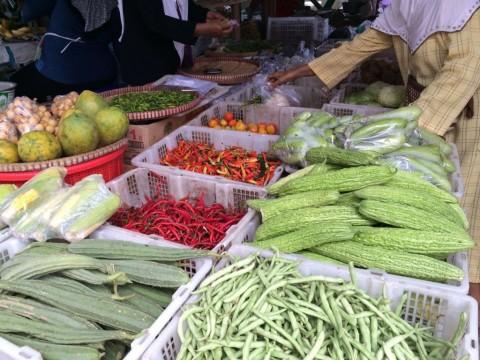 Pasar Induk Tangerang Tak Terimbas Wabah Korona