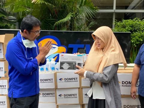 Dompet Kemanusiaan Media Group Salurkan Bantuan Alat Pelindung Diri