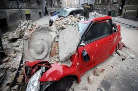 Gempa Guncang Kroasia di Tengah <i>Lockdown</i> Parsial