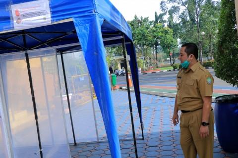 Pemkot Tangerang Bakal Sebar Bilik Disinfektan Cegah Korona
