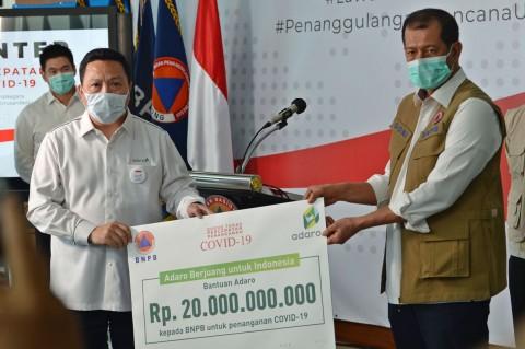 PT Adaro Serahkan Bantuan Rp20 Miliar untuk Tangani Korona
