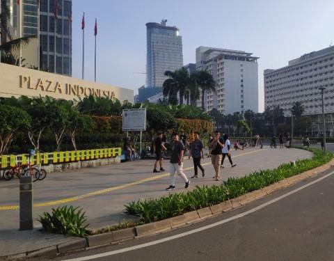 Plaza Indonesia Tutup Sementara