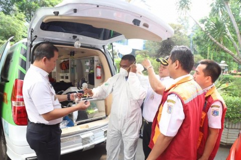 Dinkes DKI Tambah Unit Ambulans Gawat Darurat