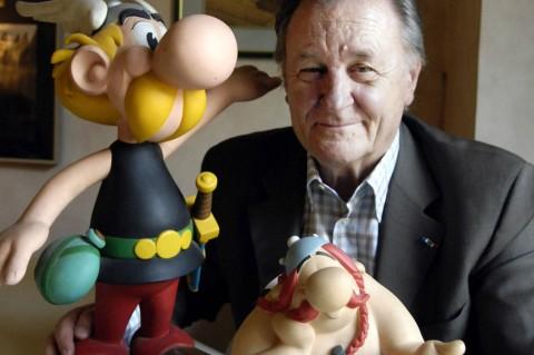 Pencipta 'Asterix' Albert Uderzo Meninggal di Usia 92