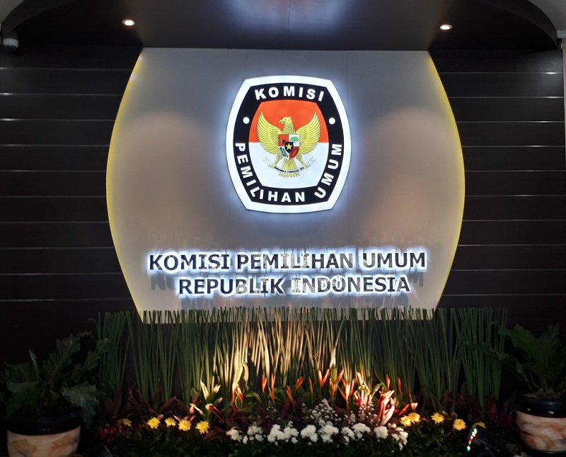 Ilustrasi Gedung Komisi Pemilihan Umum. Medcom/Faisal Abdalla