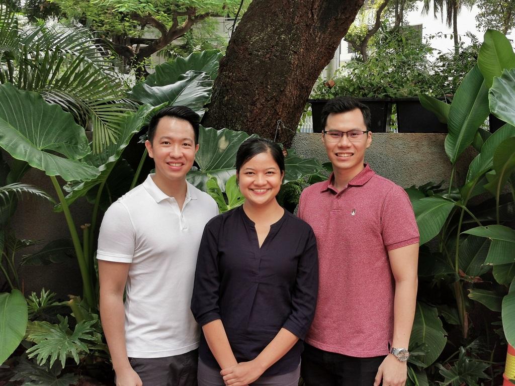 Dari kiri ke kanan, Co-founder dan COO Nusantics Vincent Kurniawan, Co-founder dan CEO Sharlini Eriza Putri, dan Co-founder dan CTO Revata Utama